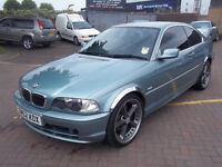 BMW 325 CI SPORTS COUPE NEW MOT FULL LEATHER UPGRADED ALLOYS STUNNING £2495
