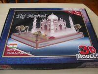Play to Learn 3D Paper model of Taj Mahal