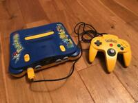 Pokemon N64 Games Console