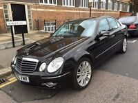 MERCEDES E280 SPORT CDI DIESEL AUTOMATIC 2006 FACELIFT 1 FORMER OWNER SAT NAV HEATED LEATHERS CLEAN