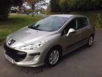 2008 Peugeot 308 1.6 HDi S 5dr 30 Pounds a year Road Tax £2050 ONO