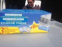 Dehumidifier plus refill crystals