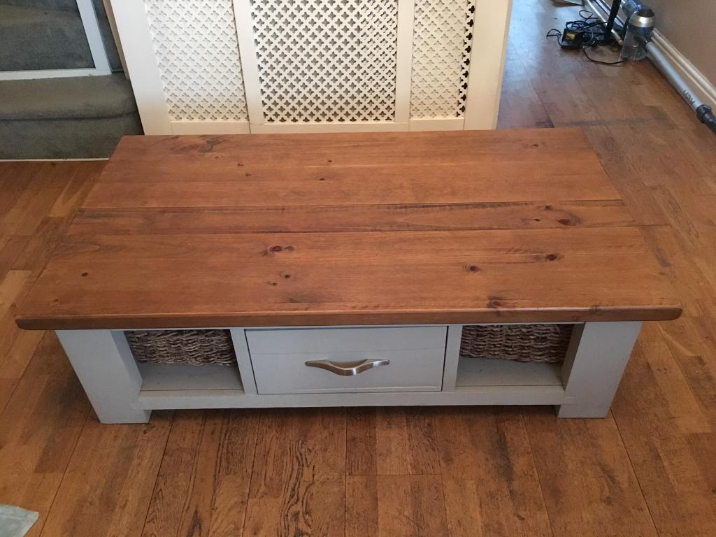 Oak Country Cottage Coffee Table From Next
