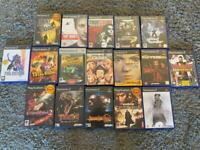 17 PS2 PlayStation 2 Games with manuals