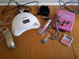UV/LED gel nail set SHELLAC