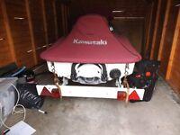 Kawazaki 100 stxi 3 Seater JetSki