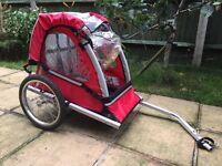 Bike trailer, hardly used