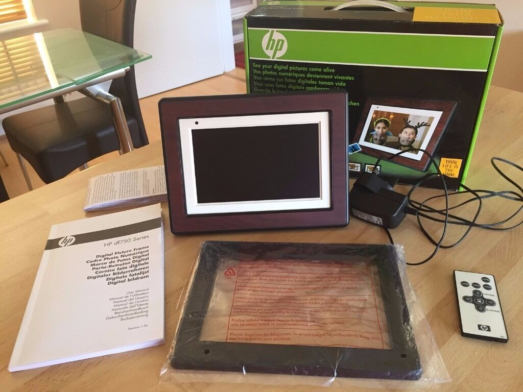 HP 7\'\' Digital picture Frame df750a2 - Brand New | in Bletchley ...