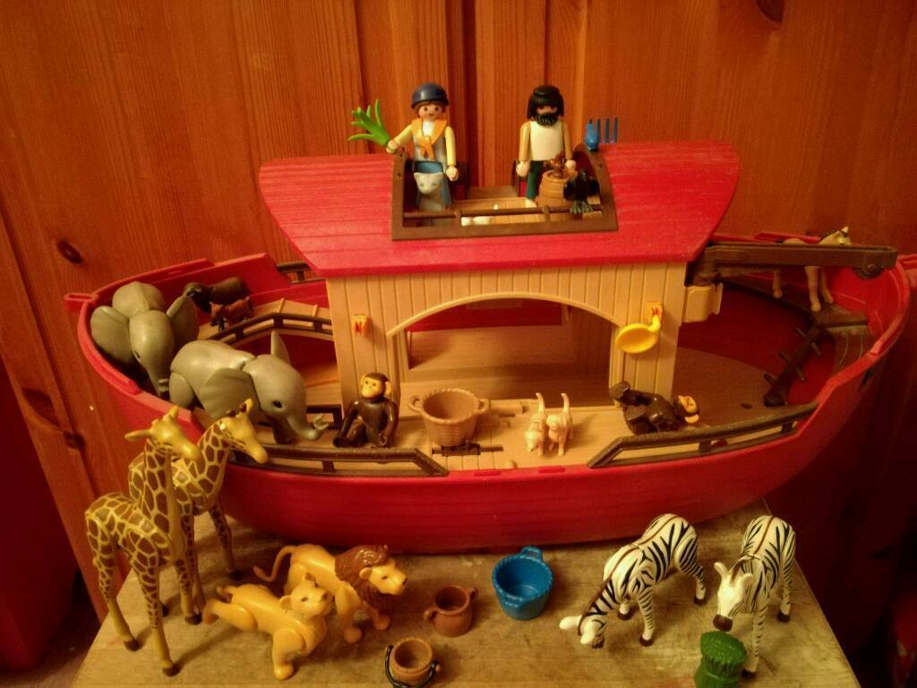 Playmobil Noahs ark set