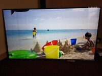 Samsung 55KU6400 smart tv for repairs or spares