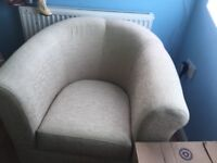 Natural bedroom chair in very good condition