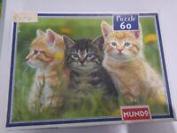 X2 Hatchimal puzzles and cat puzzle