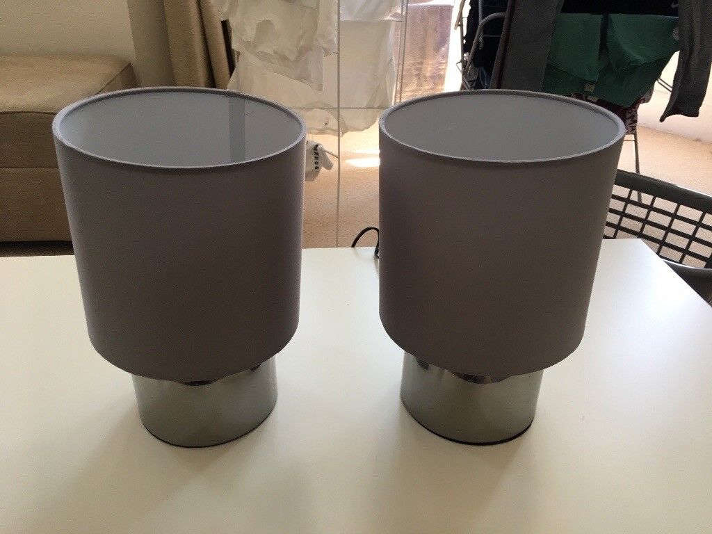 2 Dimmable Bedside Lamps
