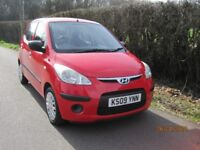 Hyundai I10 5 door hatchback, only one owner from new, fsh and new MOT