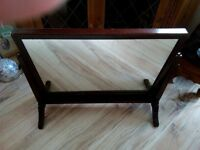 Very nice free standing chest top mirror