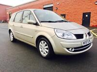 NOVEMBER 2007 RENAULT GRAND SCENIC DYNAMIQUE 1.6 PETROL *7 SEATER* ONLY 63,000 MILES FSH
