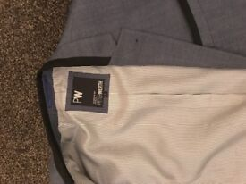 Peter werth size 2 draper piped blazer (navy)