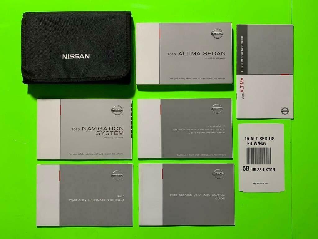 2020 Nissan Altima Sedan Factory Owners Owner U0026 39 S Manual Manual Guide