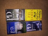 P.D. James paperbacks