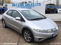 HONDA CIVIC 2.2 SPORT I-CTDI 5d 139 BHP A GREAT EXAMPLE INSIDE (silver) 2006