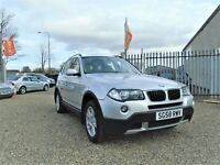 2008 BMW X3 2.0 20d SE xDrive 5dr / Only 1 Owner From New, 12 Month warranty