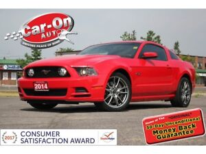 2014 Ford Mustang GT 5.0L LEATHER SHAKER AUDIO ONLY 56,000 KM