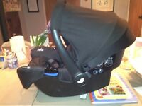 Infant car seat by Joie Gemm - second hand, no accidents.