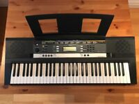Yamaha Portable Keyboard PSR-E243 (+keyboard stand, note sheet stand)