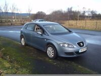 2006 new shape seat leon 1.6 16v clean smooth car 3 owners