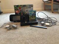 Black Wii u 32gb Console - Excellent Condition, With MarioKart 8 & Zelda Breath of the Wild games