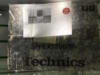 Technics Mixer original! SH-EX1200 still sealed in the box!