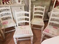 Beautiful Vintage/Shabby Chic Cath Kidston dining chair