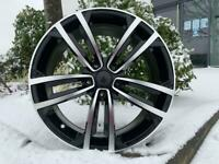 "18"" 2017 GTD style alloy wheels and tyres (5x112) Suitable for most VW,SEAT & AUDI A3 etc"