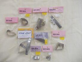 Sugarcraft Cutters, 9 Sets, New in Original Packaging