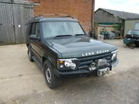 5 door Landrover Discovery 4 x 4 Commercial with front winch