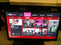 "LG 24MT35S 24"" Smart HD Ready LED TV Wi-Fi & Freeview & Freesat"