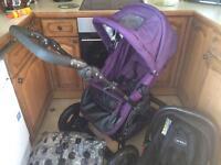 Girls travel system