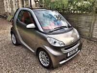 Smart Fortwo. One previous owner, Free road tax