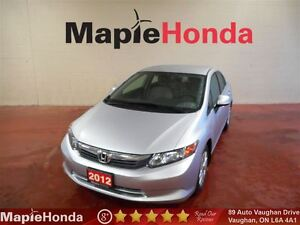2012 Honda Civic LX| Power Group, Bluetooth, USB, AUX!