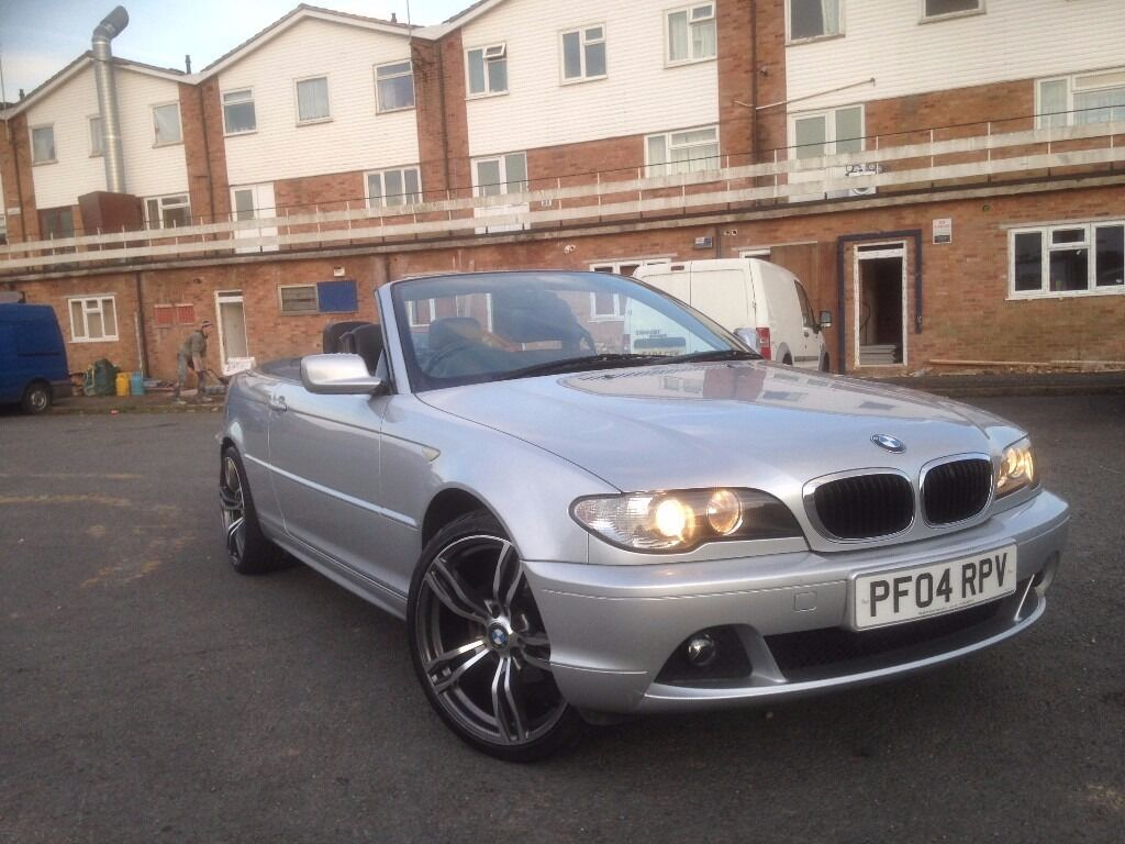 BMW 318ci convertible, 2004 low mileage 19\'\' alloy wheels m3 | in ...