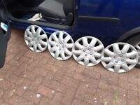 Peugeot 14in wheel trims
