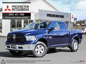 2014 Ram 1500 OUTDOORSMAN! CREW! 8-SPEED! HEATED SEATS!