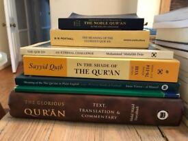 Islam Books for Sale Qur'an translations, Scholar texts