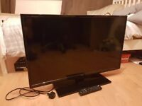 40 Inch Seiki 4k Ultra HD LED TV With Digital Freeview - Excellent Condition