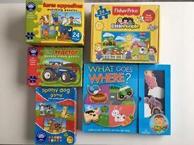 Puzzle & games bundle