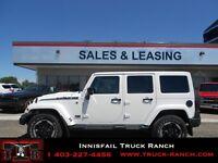 2014 Jeep Wrangler Unlimited Polar Sahara Pkg!!