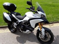 Ducati Multistrada 1200s Touring - White - Full DSH + Luggage Pack - Immaculate