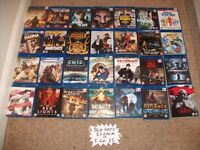 BLU-RAYS £2 EACH OR 3 FOR A £5