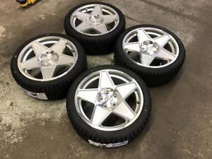"18"" FAST Wheels 5x114.3 and Winter Tire Package 225/40R18 (JAPANESE CARS) Calgary Alberta Preview"