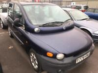 Fiat Multipla Diesel. Mot. Tax. 7 Seater
